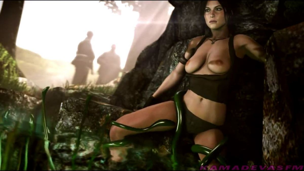 Lara Croft Fucked By Tentacle