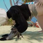 2B Fucked In The Ass at The Beach