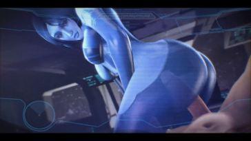 Cortana Hologram Fuck
