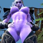 Drow Ranger Shows Pussy