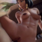 Pharah Firm and Dark Breast