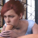 Mary Jane Blowing Peter Parker