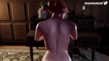 Triss daily anal pleasure