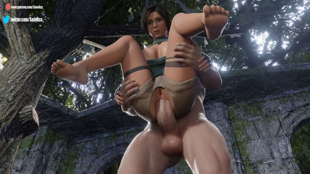Lara gets carried and fucked in the ass