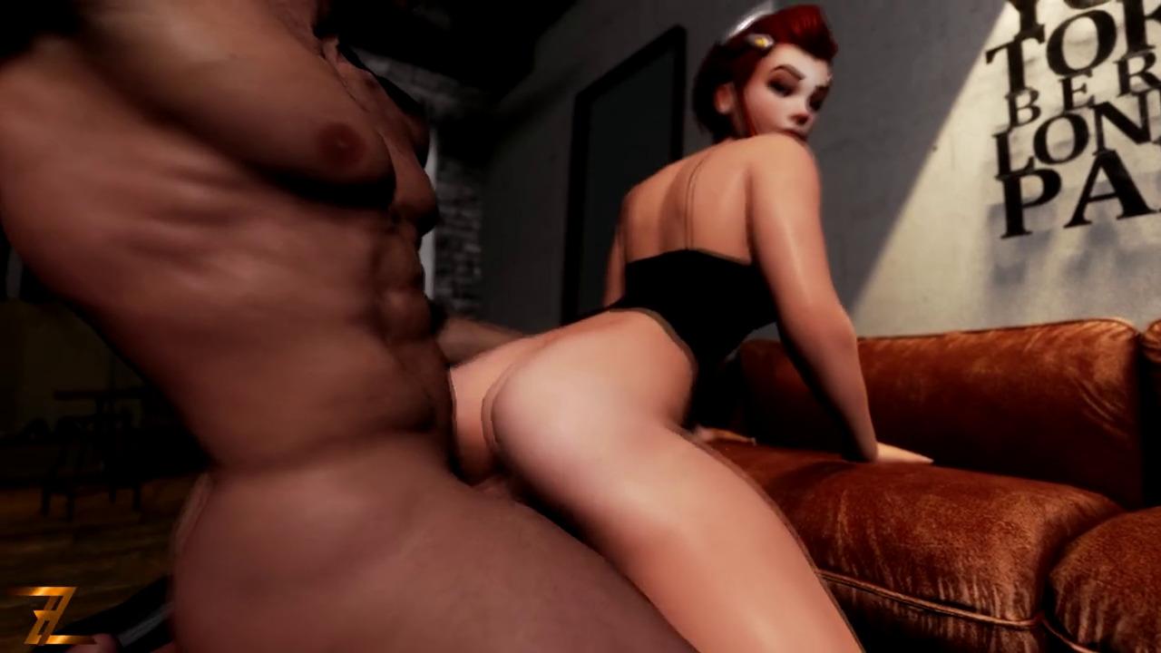 Brigitte ass pounded